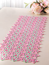 Motif Medley Table Runner Crochet Pattern