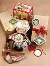Postcard Gift Tags & Boxes Crochet Pattern