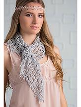 Morning Dew Wrap Crochet Pattern