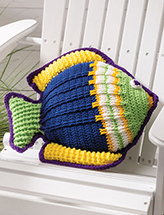 Something Fishy Pillow Crochet Pattern