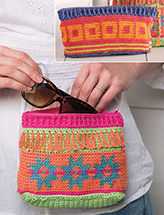 ANNIE'S SIGNATURE DESIGNS: Lena's Pouches Crochet Pattern