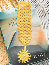 Summer Reading Bookmark Crochet Pattern
