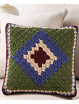Corner-to-Corner Pillow Crochet Pattern