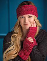 One-Skein Headband & Mitts Crochet Pattern