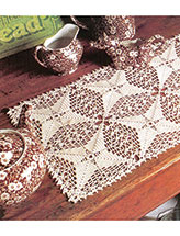 Evergreen Lace Table Runner Crochet Pattern