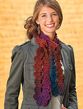 Scarf in a Loop Crochet Pattern