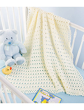 Little Hugs Baby Blanket Crochet Pattern