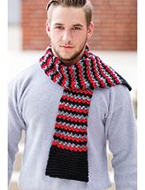 Favorite-Guy Muffler Crochet Pattern