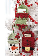 Gift-Card Holders Crochet Pattern