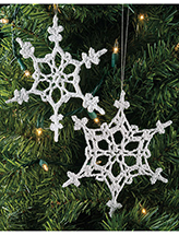 Snowflake Duo Crochet Pattern
