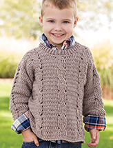 Triple Twist Pullover Crochet Pattern