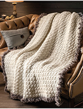 Fur Throw Crochet Pattern