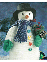 Frosty the Snowman Crochet Pattern