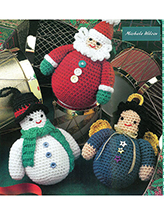 Roly-Poly Characters Crochet Pattern