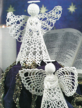 Praying Angel Ornaments Crochet Pattern