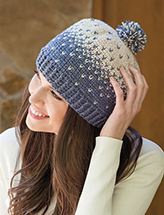 Snowcapped Beanie Crochet Pattern