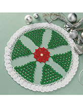 Holiday Wonderland Doily Crochet Pattern