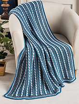 Winter Twilight Throw Crochet Pattern