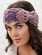 Beautiful Bow Head Wrap Crochet Pattern