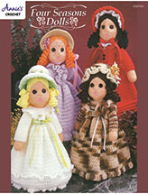 Four Seasons Dolls Crochet Pattern