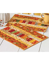 Autumn Roads Place Mats Quilt Pattern