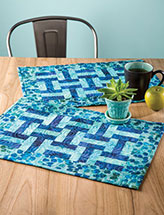 Woven Place Mats Quilt Pattern