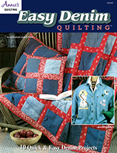 Easy Denim Quilting Pattern