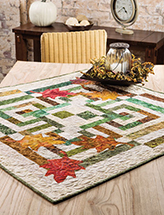Fall in the City Table Topper Quilt Pattern