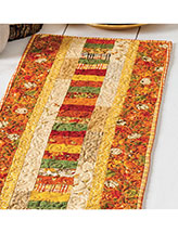 Autumn Roads Runner Crochet Pattern