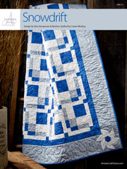 EXCLUSIVELY ANNIE'S: Snowdrift Quilt Pattern