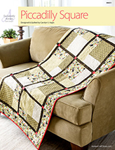 EXCLUSIVELY ANNIE'S: Piccadilly Square Quilt Pattern