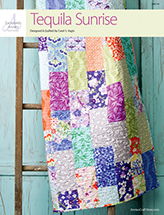 EXCLUSIVELY ANNIE'S: Tequila Sunrise Quilt Pattern