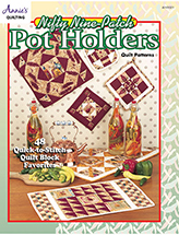Nifty Nine-Patch Pot Holders Quilt Pattern