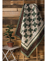 EXCLUSIVELY ANNIE'S: Pine Tree Crossing Quilt Pattern