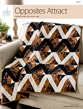 EXCLUSIVELY ANNIE'S: Opposites Attract Quilt Pattern