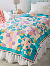 EXCLUSIVELY ANNIE'S: Scrappy Explosion Quilt Pattern