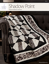 EXCLUSIVELY ANNIE'S: Shadow Point Quilt Pattern