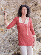 ANNIE'S SIGNATURE DESIGNS: Soul Sister Tunic Knit Pattern