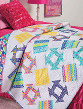 Churned Up Quilt Pattern