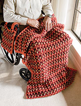 Triple Cross Wheelchair Set Crochet Pattern
