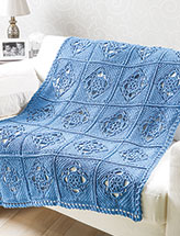 Ogle House Throw Crochet Pattern