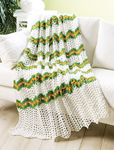 Summer's Day Throw Crochet Pattern