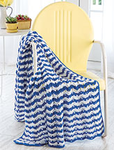 Clever Chevron Throw Crochet Pattern