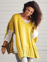 Dyer Poncho Knit Pattern