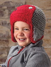 Child's Bomber Hat Crochet Pattern