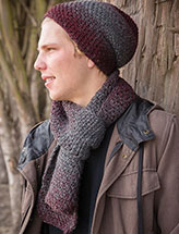 ANNIE'S SIGNATURE DESIGNS: His Scarfie & Hat Crochet Pattern