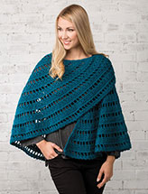 Crescent Shawl Crochet Pattern