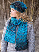 ANNIE'S SIGNATURE DESIGNS: Her Scarfie & Hat Crochet Pattern