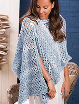 Cresting Waves Shawl Crochet Pattern