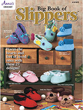 Big Book of Slippers Crochet Pattern